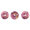 Sequins Round 10mm Aprx 450pcs Hologram Rosa